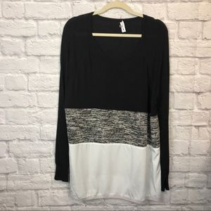 Calvin Klein Colorblock blouse 2x